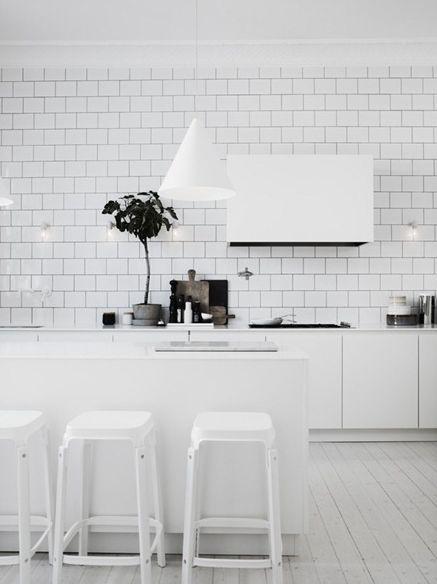 vitt kakel bistro kök - Sök på Google