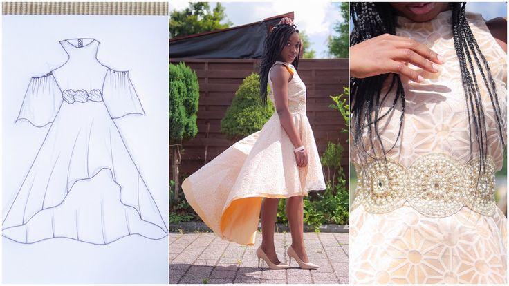 MY BIRTHDAY DRESS FROM SCRATCH︱KIM DAVE STYLE store.kimdave.com