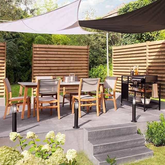 paravent de jardin castorama fabulous brise vue enroulable montpellier decore photo galerie. Black Bedroom Furniture Sets. Home Design Ideas