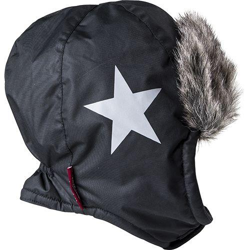 Cap, fur, star