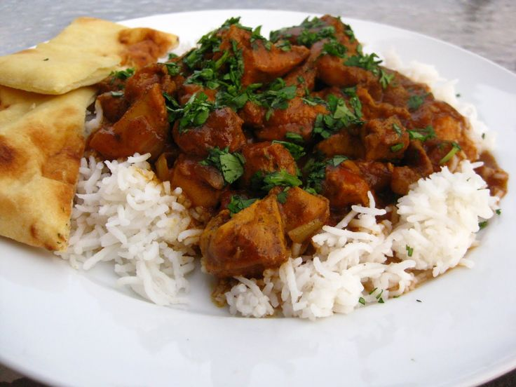 Recipe Swap Indian Chicken Curry