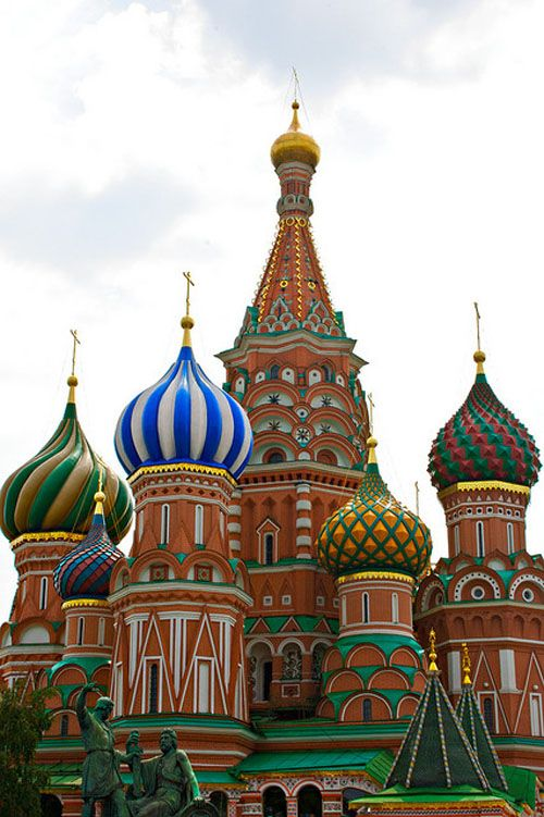 Russia Onion Dome
