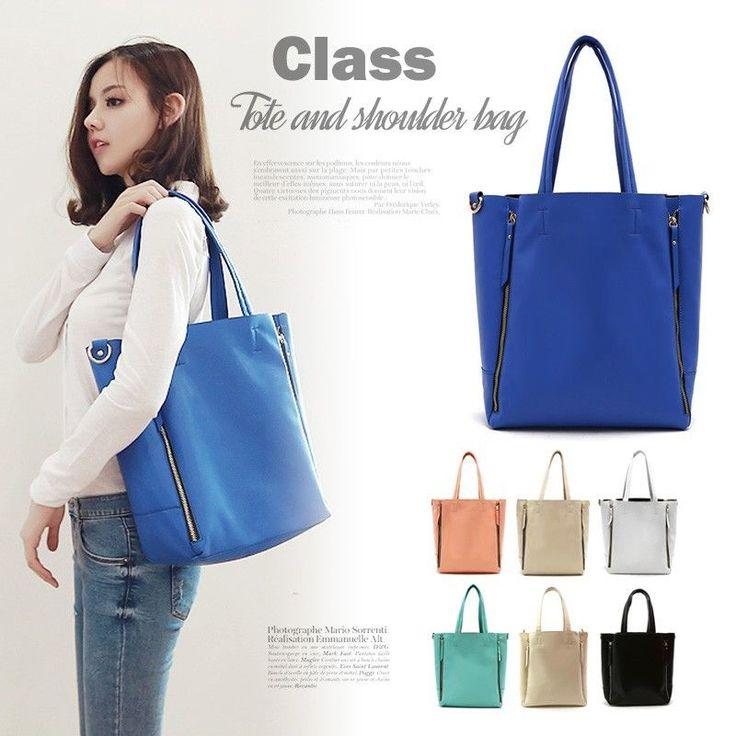 New Ladies Hobo Shoulder Bag Faux Leather Celebrity Style Totes Shopper Handbags #Handmade #ShoulderBag