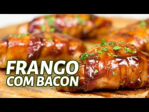 Frango com Bacon e Molho Barbecue - Marola com Carambola