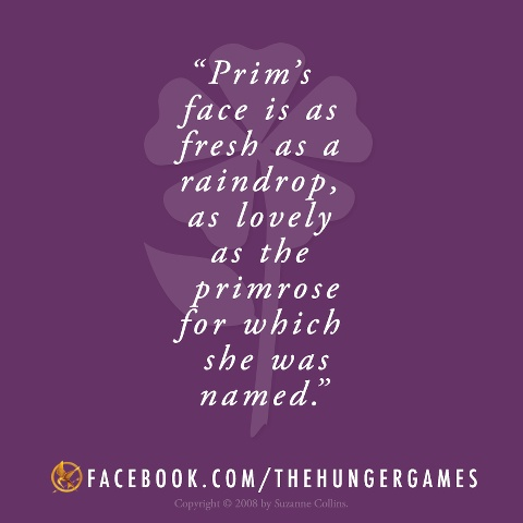 Prim Hunger Games Quotes Quotesgram