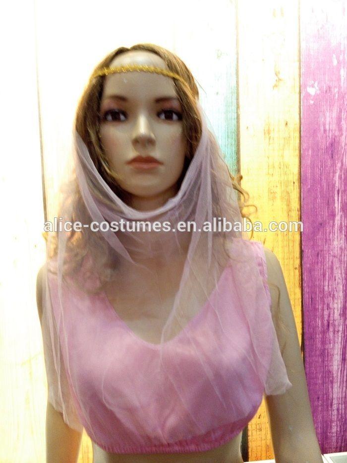 Pink Arabian Sexy Costume With Veil Arabian Princess Costume For ...