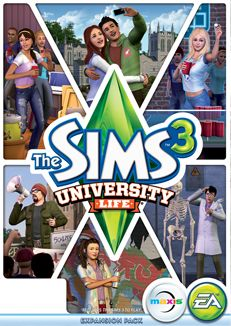 The Sims 3 | University Life Expansion Pack CD Version Please