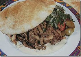 Arabic Food Recipes: Lamb Shawarma Recipe
