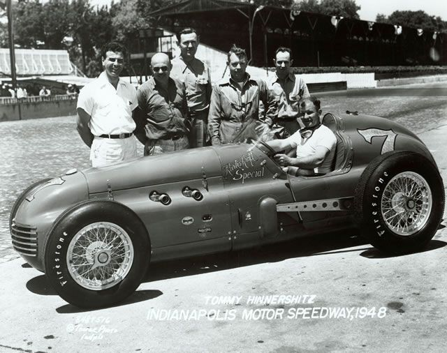 Tommy Hinnershitz 1948 Indy 500
