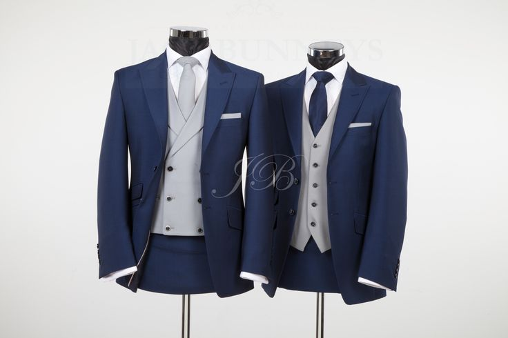 York - Vintage Wedding Suit – Blue from Jack Bunneys 3