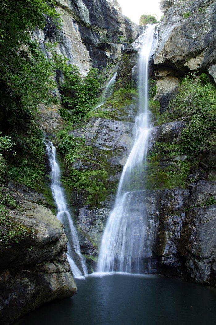 Kalupsos waterfall, mt Kissavos