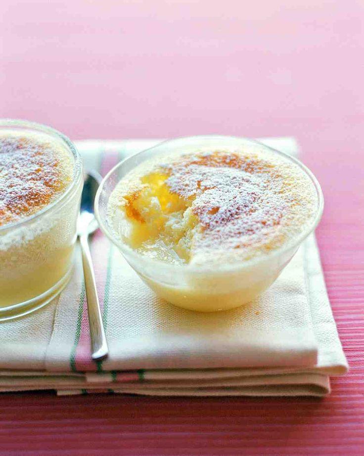 Lemon Custard Cakes