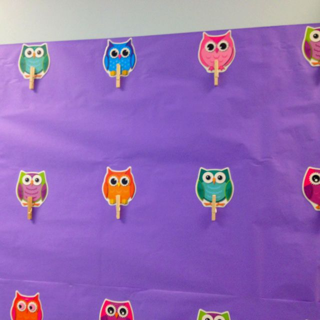 owls bulletin boards | Teacher stuff / Owl bulletin board