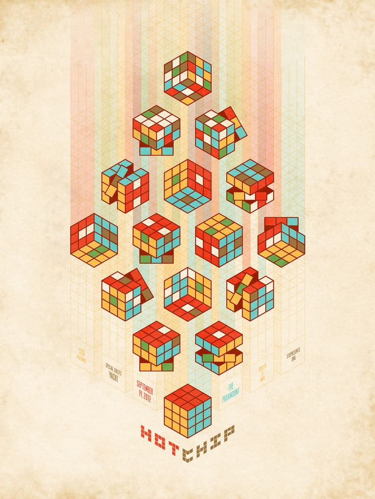 Hot Chip poster by DKNG $40