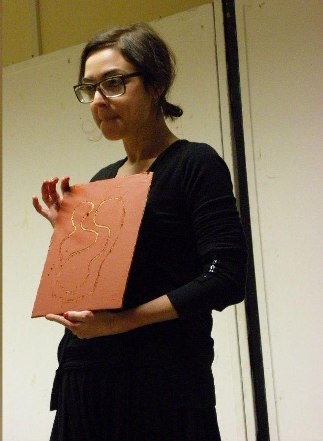 Domenica 1 dic 2013 - corso di #pittura adulti - parte istintuale - ecco un lavoro finito - http://www.mostra-mi.it/main/?page_id=7574