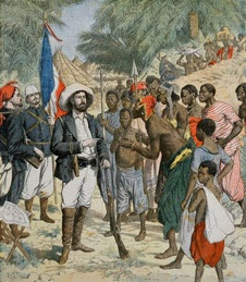 un dessin du Congo français