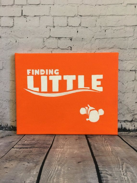 Finding Nemo sorority canvas by SamsSororityStash on Etsy
