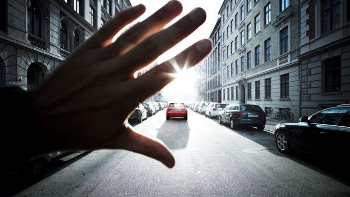 #AudiA1 #luce #light #road #city