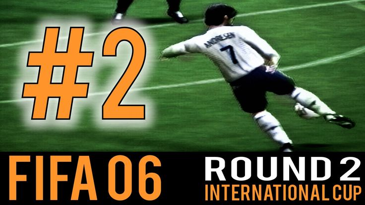 Nice gameplay from Fifa06 with a lot of goals. PS2 times :D