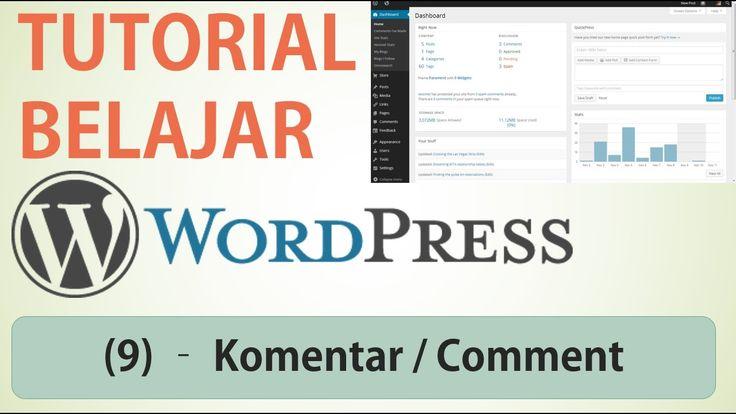 Belajar Wordpress - (9) Komentar / Comment