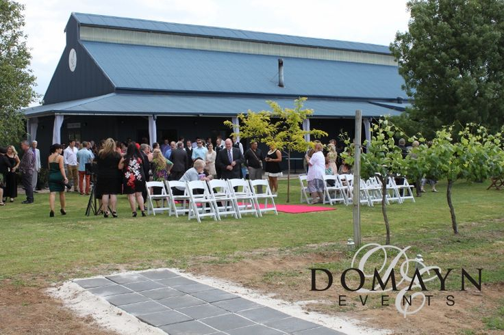 A gorgeously classic marquee wedding at Blue Wren Winery in Mudgee. For more info  visit www.domaynevents.com.au