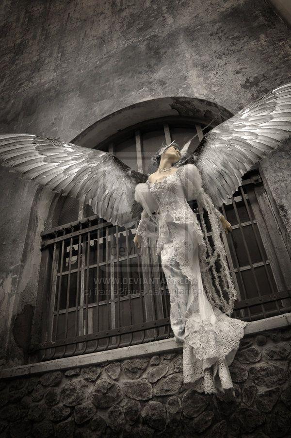 """""""angel 'la celeste"""" (2007), By Rendy Kusumo, DeviantArt ID: frame2fame, Digital Art, Indonesia.  #angels"""