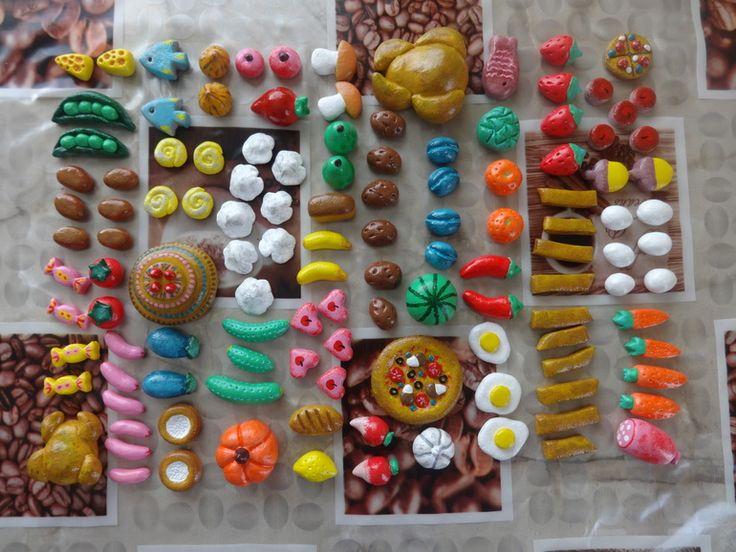 Еда из солёного теста - Рукоделие - стр. 1 - Babyblog.ru