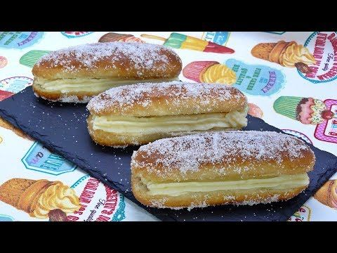 Pepitos de Crema Super rapidos - YouTube