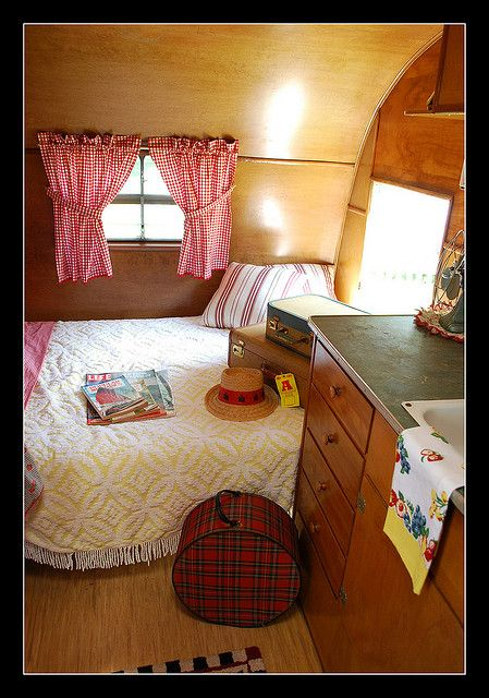 1955 Trotwood travel trailer