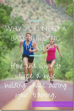 Why You Need a Base Building Phase: How and why to utilize a base building phase as you create your half or full marathon training plan.