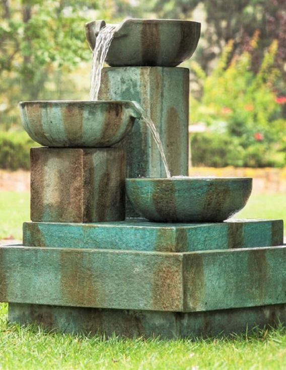 Asian Garden Fountain 108