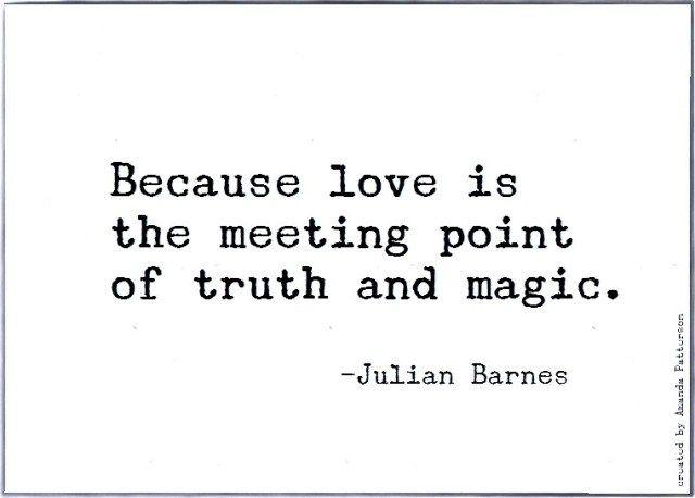 Quotable -Julian Barnes