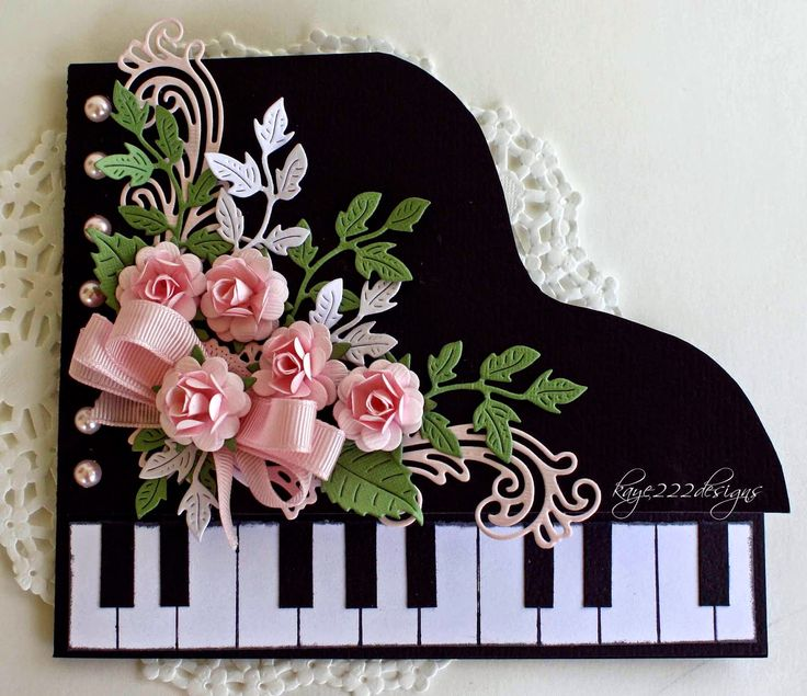 Beyond Beauty: Pop Up... Piano Card
