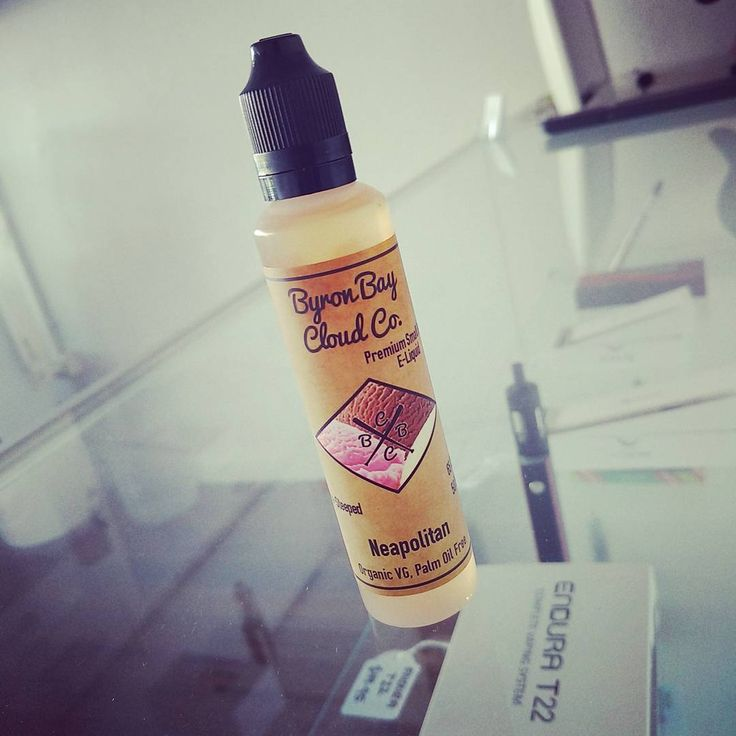 Have you tried Neopolitan by @byronbaycloudco yet? Vanilla, Strawberry and a touch of chocolate. Delicious creamy Ice Cream, enough said  #neopolitan #vapeshop #flavouroftheday #melbournevapers