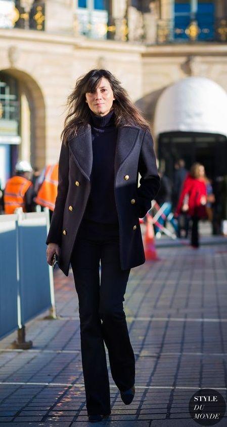 Emmanuelle Alt Street Style Street Style Pinterest Kl Der Och Inspiration