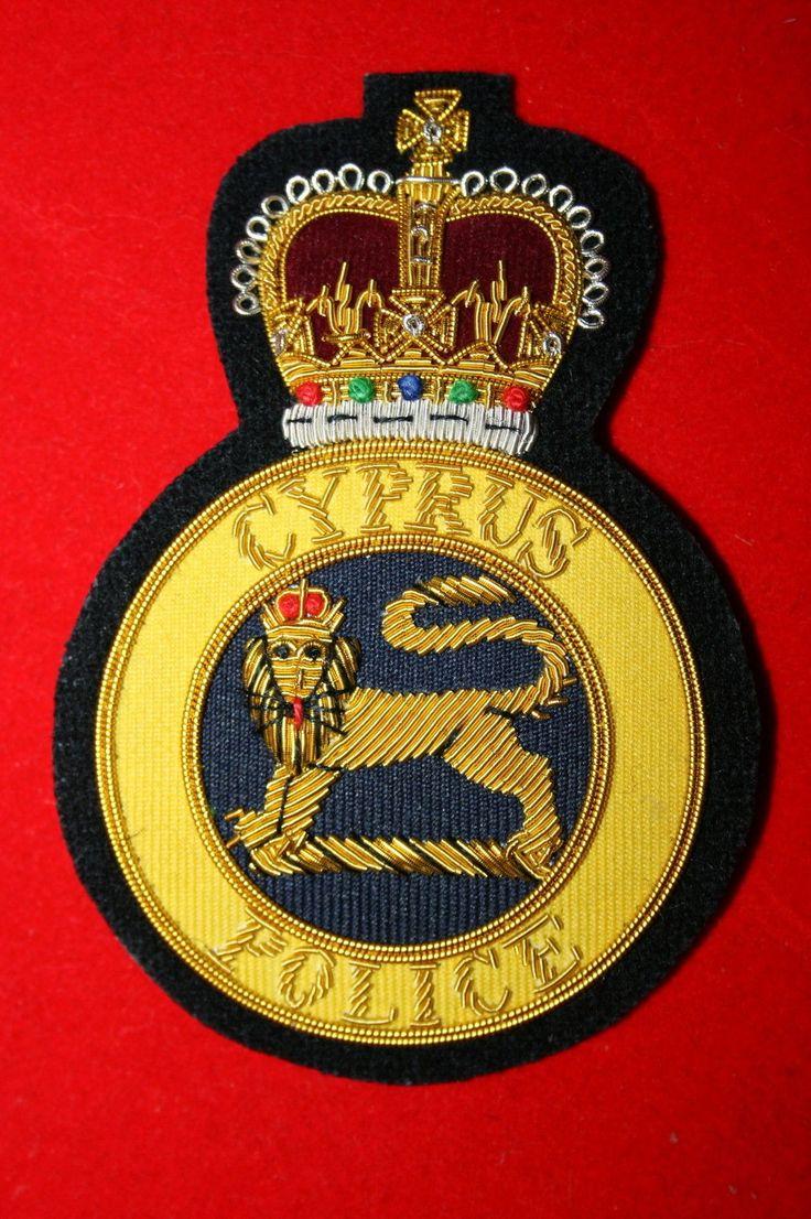 CYPRUS POLICE BULLION WIRE BLAZER Khalida Embroidery Works Cotact Us: khalidaeworks@gamil.com Ph:+92-315-7880152