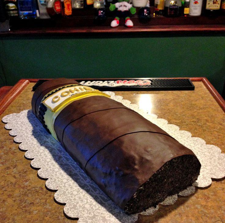 Cigar Cake - Build Me Up Buttercream