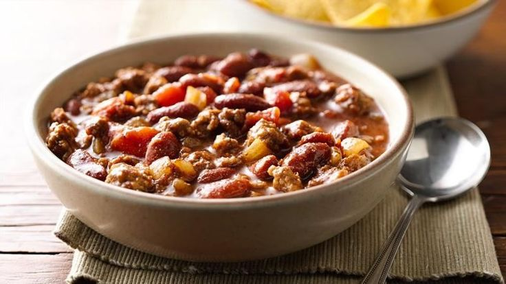 This hearty chili has just the right level of spice. One bite and you'll see why it's Betty's Best!