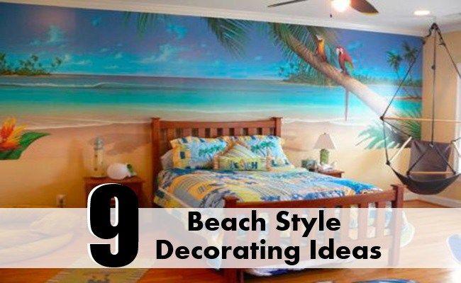 Beach Style Decorating Ideas
