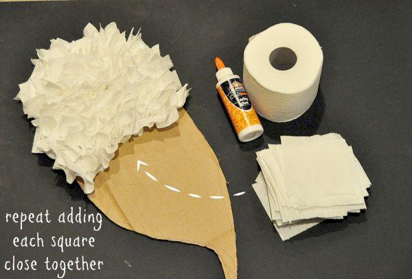 Budget Friendly DIY Angel Wings Costume    step 5