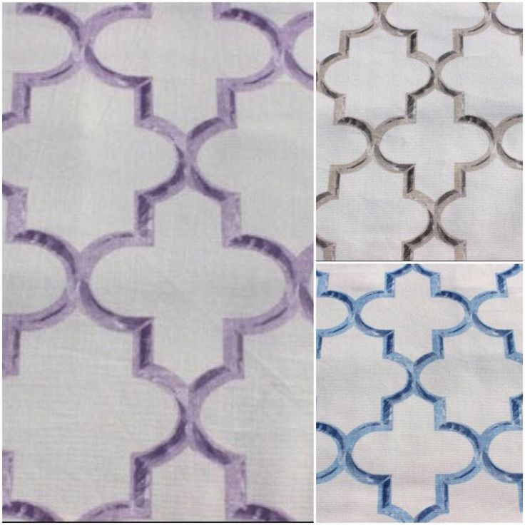 A beautiful trellis pattern in 4 color combinations - blue, purple, brown and burnt orange. Flaunt this collection of fabrics. Only available on Fabricmart!