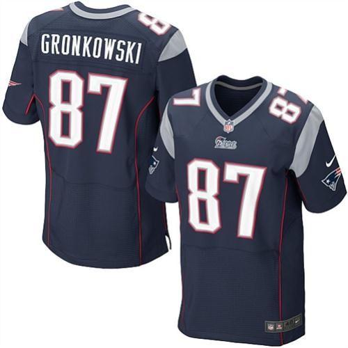 Rob GronkowskiTom Nike Rob Gronkowski New England Patriots Elite Jersey –  Navy Blue NFL ... c6e88ffde