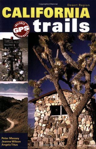 California Trails Desert Region:   This handy 6x9 guidebook is a new, full color volume that navigates 1358 miles of backcountry trails in California, near the towns of Lone Pine (east), Panamint Springs, Death Valley area, Ridgecrest, Barstow, Baker and Blythe. See ghost towns, old mines and mill workings, old railroads and stage lines along the 51 off-road trails. Directions include GPS coordinates and all trails are rated for difficulty, mileage, driving time, remoteness and more. D...