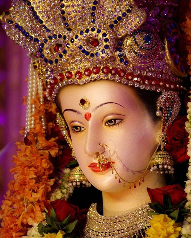 Hindu Goddess Durga Maa, Mumbai Navratri