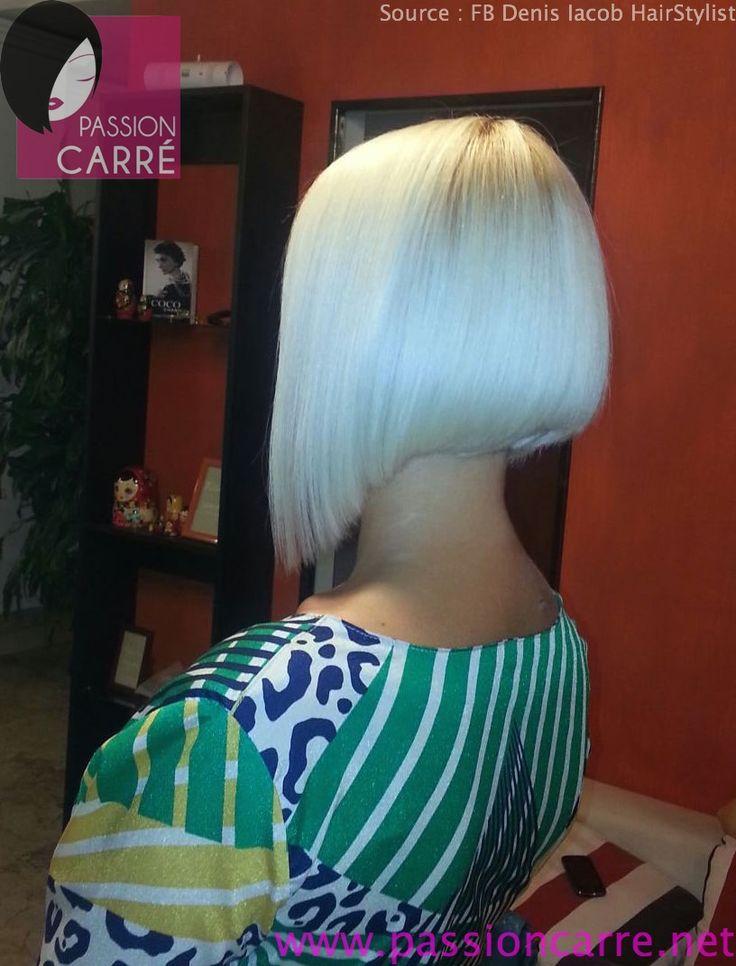 Best 25 carr plongeant blond ideas on pinterest coupe carr ondul court ondul and carr - Blond platine femme ...