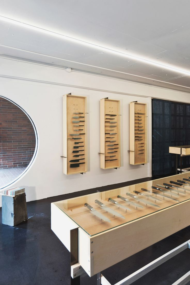 An Architect-Designed Artisan Knife Shop in Vancouver
