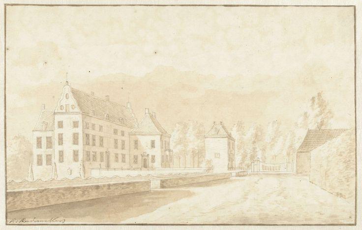 Het kasteel Dorth in Overijssel, Abraham Rademaker, 1685 - 1735