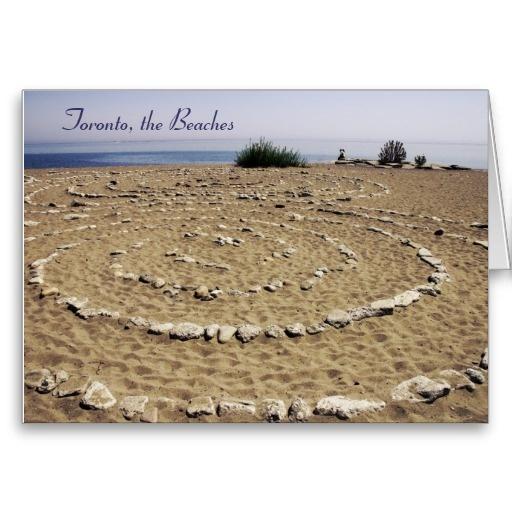 The Beaches, Toronto greeting card