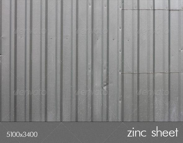 Zinc Sheet Zinc Sheet And Font Logo