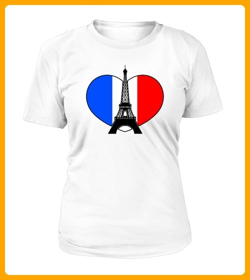 Eiffelturm Herz - Shirts für reisende (*Partner-Link)